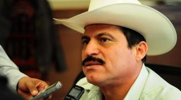 José Ángel Castro Rojo, presidente municipal de Angostura. Foto/ Samuel Inzunza.