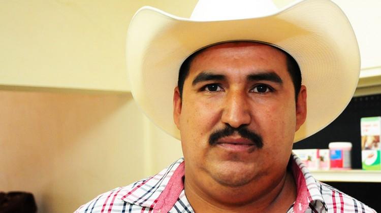 Roberto Valenzuela García, aspirante a la presidencia de la Asociación Ganadera de Salvador Alvarado.