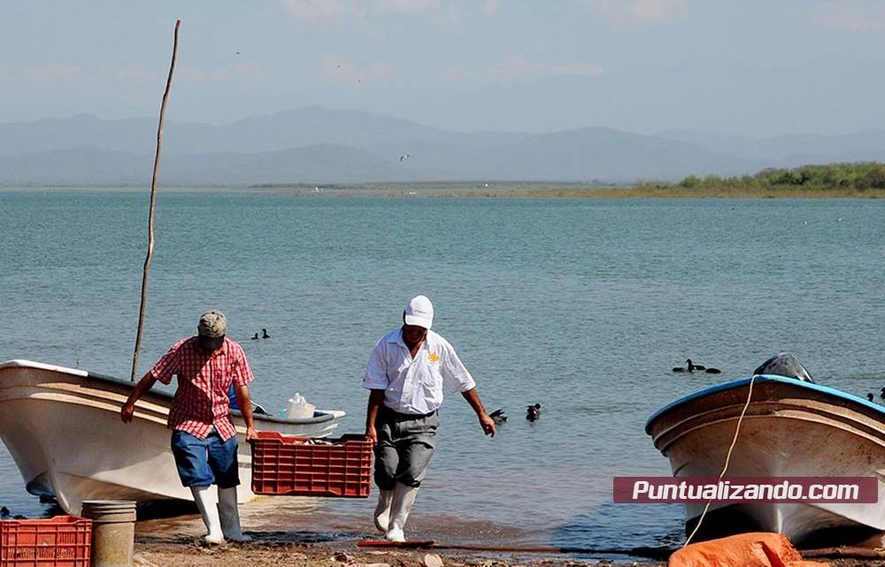 Pescadores, presa Eustaquio Buelna